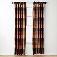 United Window Curtain Co. Plaid Window Curtain