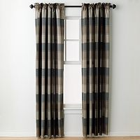 United Curtain Co. Plaid Window Curtain