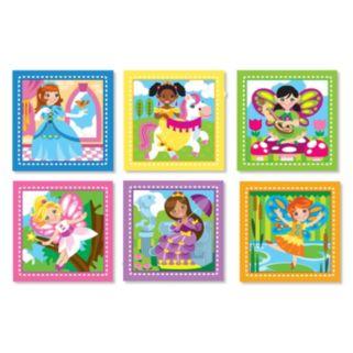 Melissa & Doug 16-pc. Princess & Fairy Cube Puzzle Set