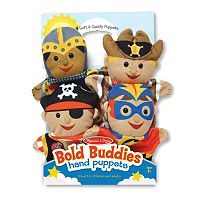 Melissa & Doug 4-pc. Bold Buddies Hand Puppets Set