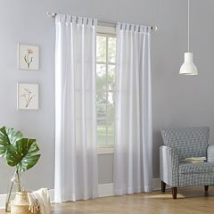 No 918 1-Panel Jacob Tab Top Window Curtain