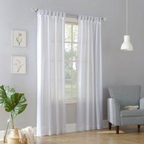 No 918 1-Panel Jacob Tab Top Window Curtain