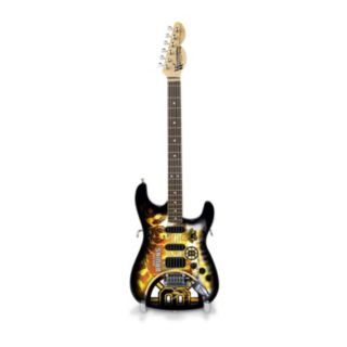 Boston Bruins NorthEnder Collector Series Mini Replica Electric Guitar