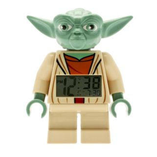 LEGO Star Wars Mini Yoda Alarm Clock by ClicTime