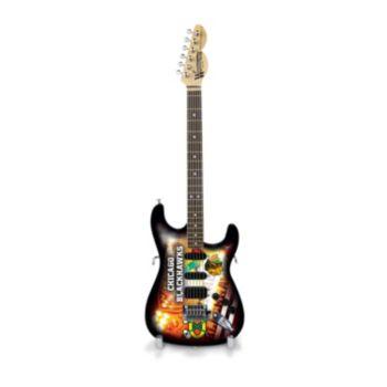 Chicago Blackhawks NorthEnder Collector Series Mini Replica Electric Guitar