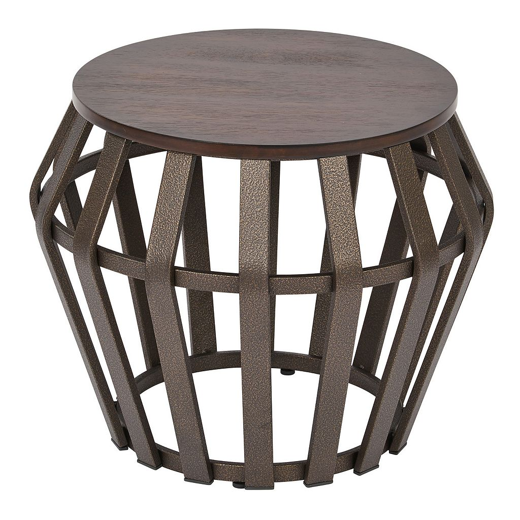 OSP Designs Solana 2-pc. Round Accent Tables
