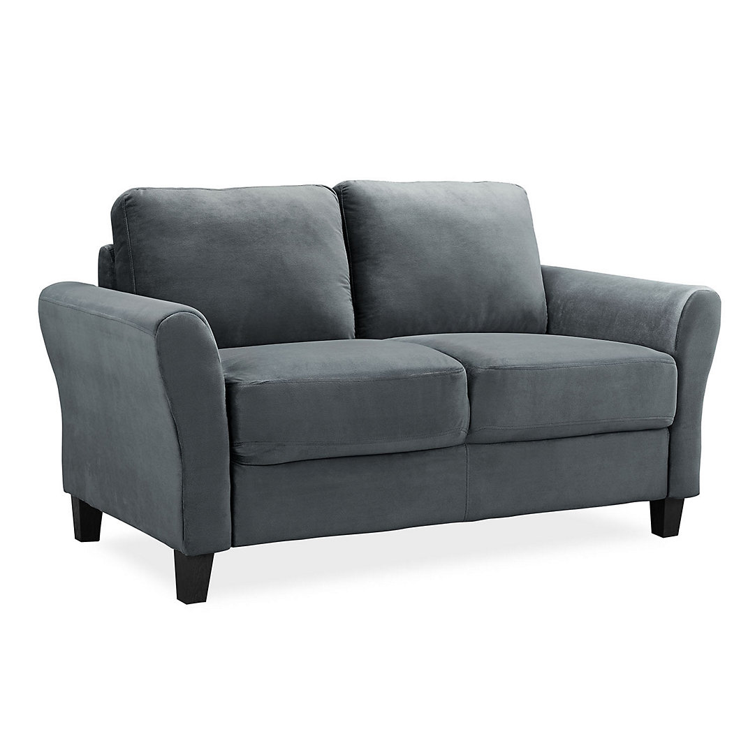 Lifestyle Solutions Westin Rolled Arm Loveseat