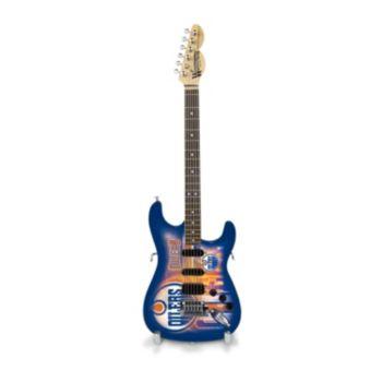 Edmonton Oilers NorthEnder Collector Series Mini Replica Electric Guitar