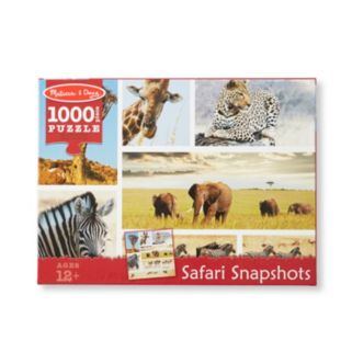 Melissa & Doug 1000-pc. Safari Snapshots Jigsaw Puzzle