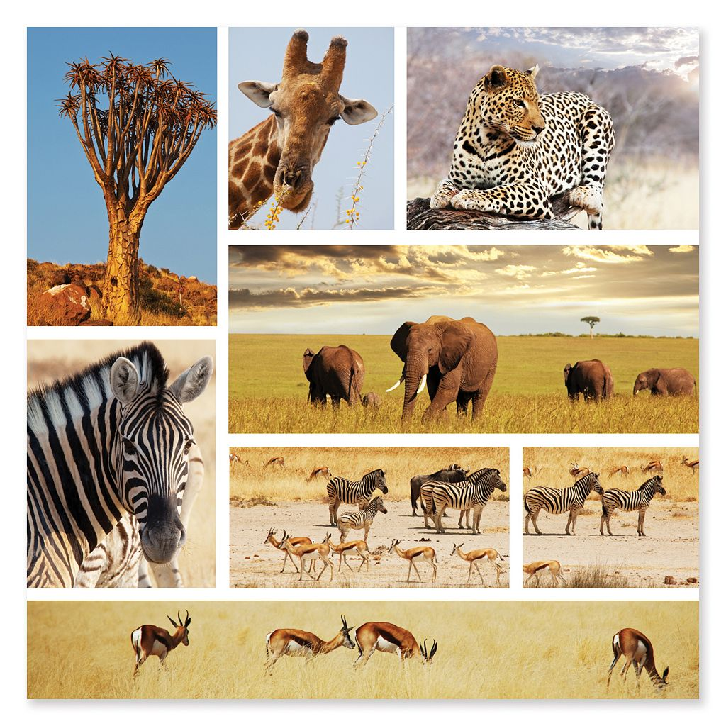 Melissa & Doug 1000-pc. Safari Snapshots Jigsaw Puzzle