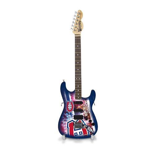 Montreal Canadiens NorthEnder Collector Series Mini Replica Electric Guitar