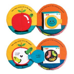 Melissa & Doug 1,2,3...Come Count with Me Soft Activity Book