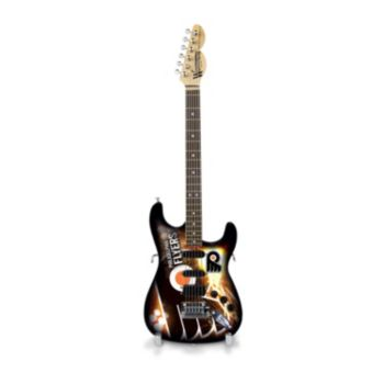 Philadelphia Flyers NorthEnder Collector Series Mini Replica Electric Guitar