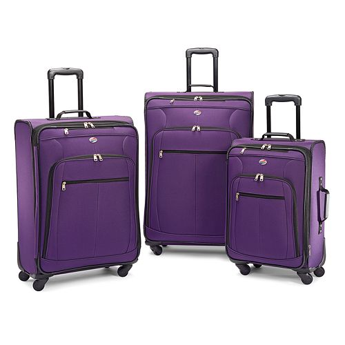 American Tourister Pop Plus 3-Piece Spinner Luggage Set