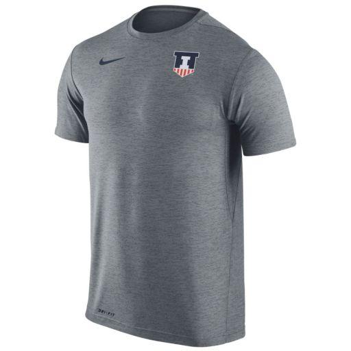 Men's Nike Illinois Fighting Illini Dri-FIT Touch Tee