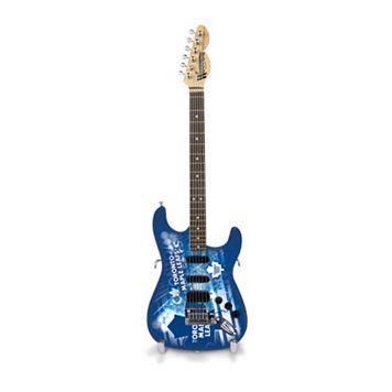 Toronto Maple Leafs NorthEnder Collector Series Mini Replica Electric Guitar