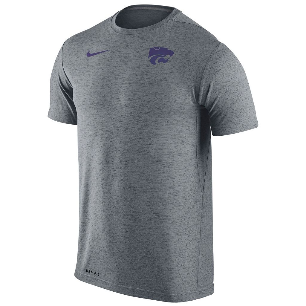 Men's Nike Kansas State Wildcats Dri-FIT Touch Tee