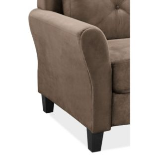 Lifestyle Solutions Hartford Rolled Arm Sofa