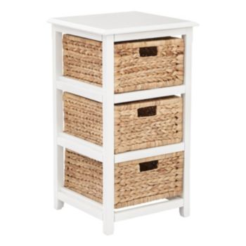 OSP Designs Seabrook Three-Tier Storage Unit