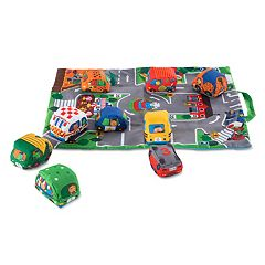 Melissa & Doug Take-Along Town Play Mat