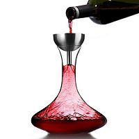 Houdini 3-pc. Crystal Wine Decanter Set