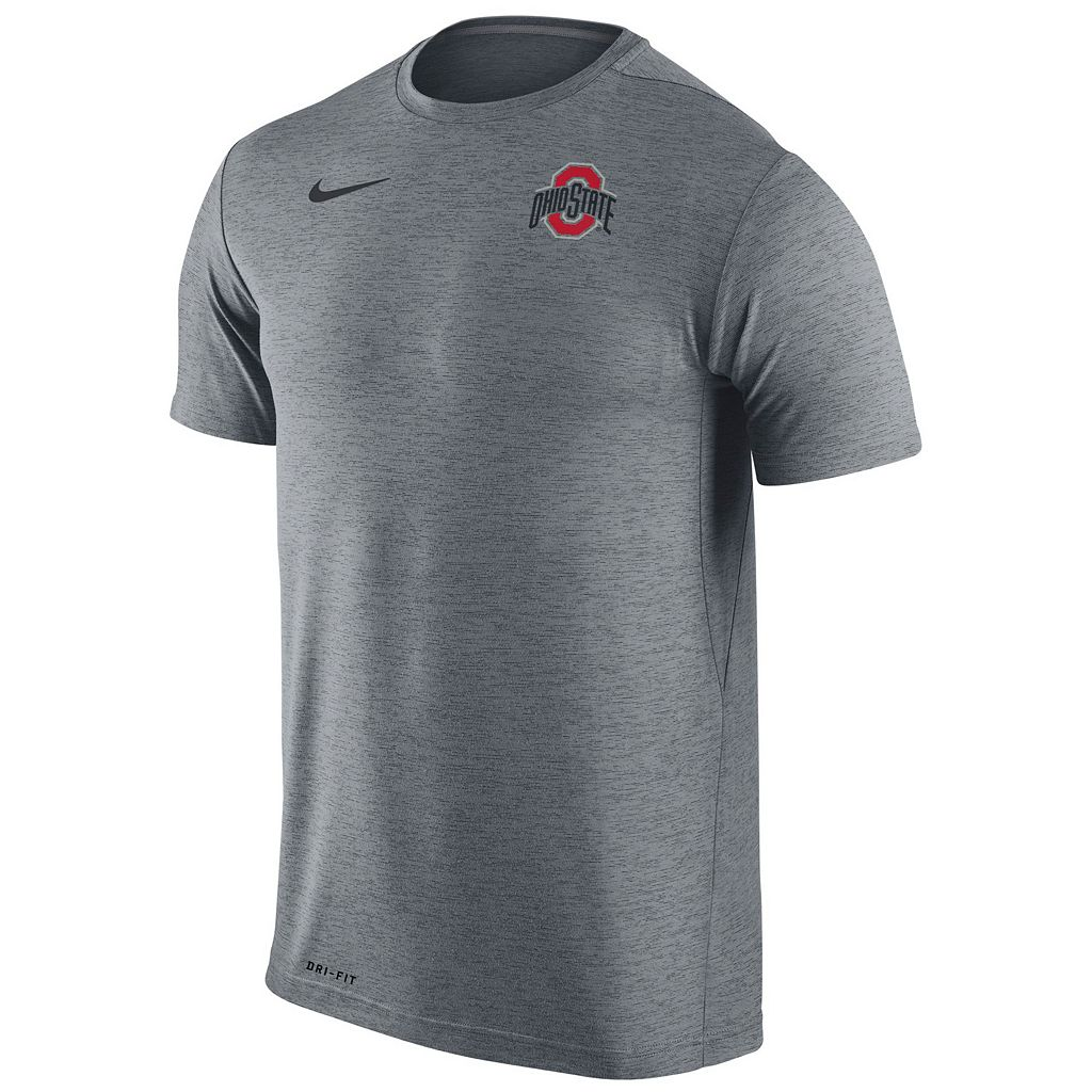 Men's Nike Ohio State Buckeyes Dri-FIT Touch Tee