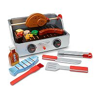 Melissa & Doug 24-pc. Rotisserie & Grill Barbeque Set