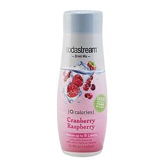 SodaStream Waters Zeros 14.8-oz. Cranberry Raspberry Sparkling Water Mix