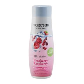 SodaStream Waters Zeros 14.8-oz. Cranberry Raspberry Sparkling Water Mix