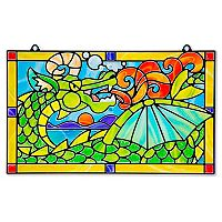 Melissa & Doug Stained Glass Made Easy Dragon Set