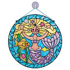 Melissa & Doug Stained Glass Made Easy Mermaid Set