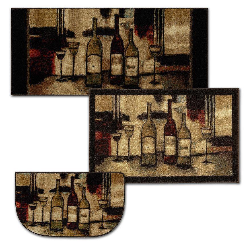 Mohawk Home Wine Gles Kitchen Rug