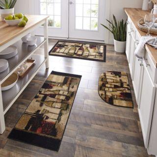 Mohawk® Home Wine & Glasses Kitchen Rug