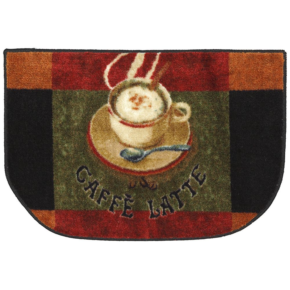 mohawk® home caffe latte kitchen rug