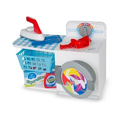 Melissa & Doug Let's Play House! Wash, Dry & Iron Play Set