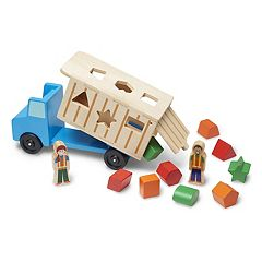 Melissa & Doug Shape Sorting Dump Truck Play Set