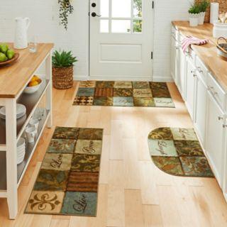 Mohawk® Home Les Fleurs La Terre Kitchen Rug