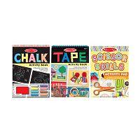 Melissa & Doug Scissors, Tape and Chalk Activity Set