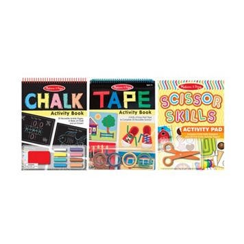Melissa & Doug Scissors, Tape and Chalk Activity Set