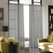 Window Curtainworks 1-Panel Soho Voile Grommet Window Curtain