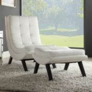Ave Six Tustins Lounge Chair and Ottoman Set