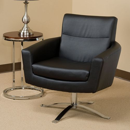 Ave Six Nova Faux Leather Chair