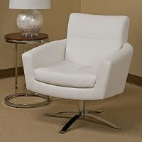 Ave Six Nova Faux Leather Chair