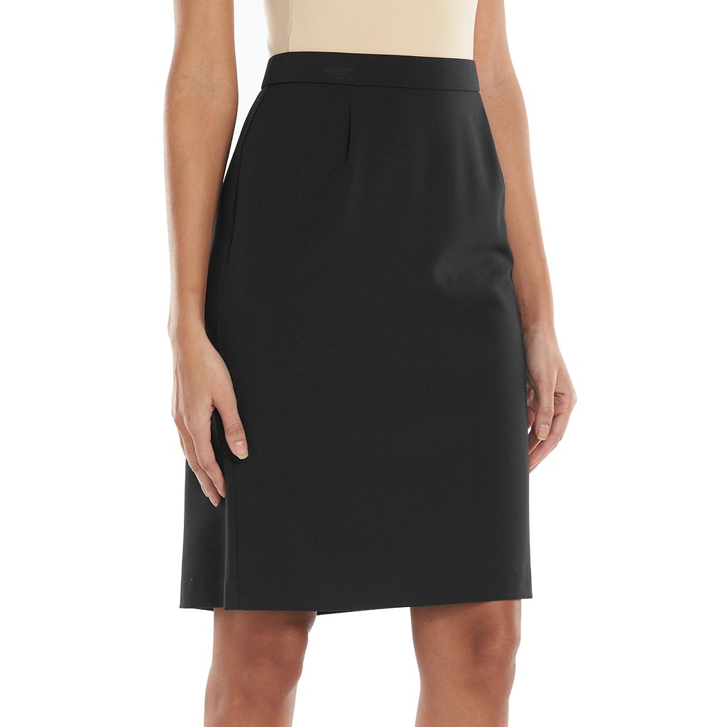 Women's Dana Buchman Solid Pencil Skirt