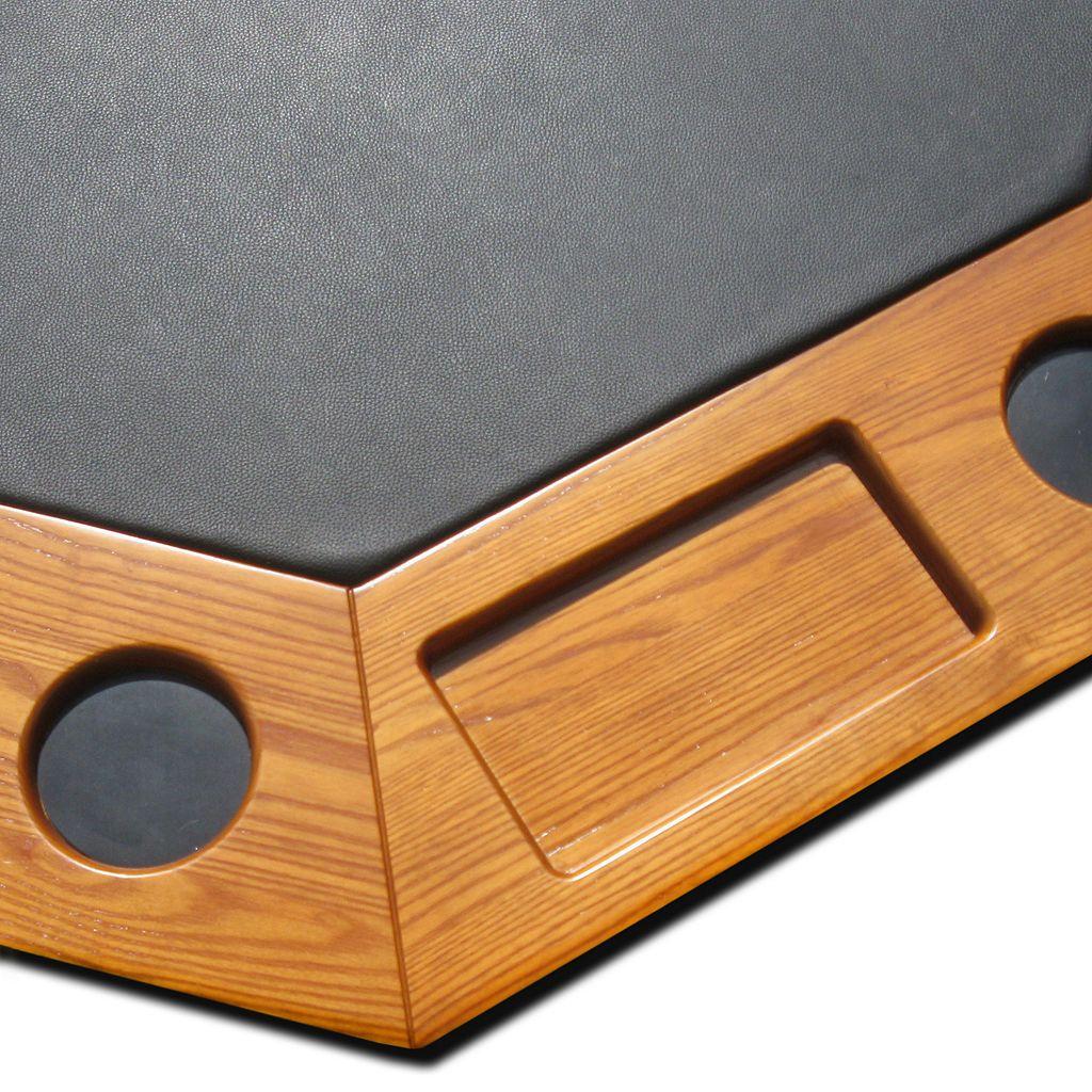 Hathaway Kingston Dark Oak 3-in-1 Poker Table