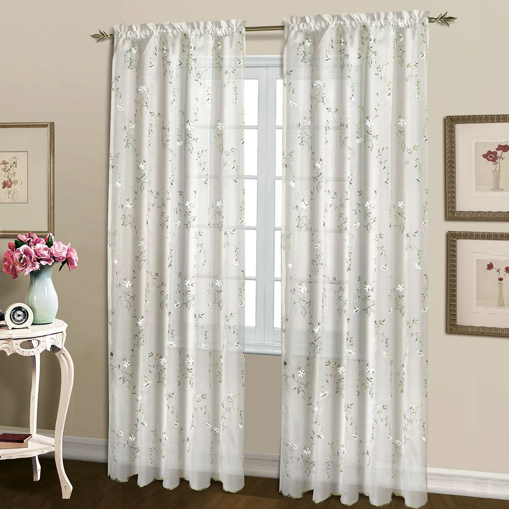 United Curtain Co. Loretta Window Curtain