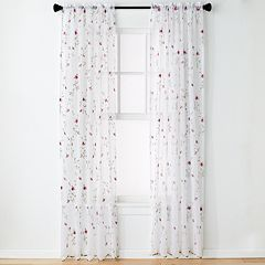 United Curtain Co. 1-Panel Loretta Window Curtain