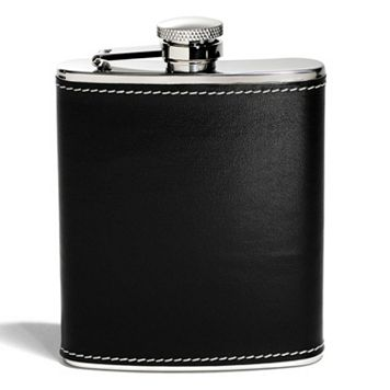 Houdini 6-oz. Faux-Leather Pocket Flask