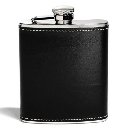 Houdini 6-oz. Faux-Leather Pocket Flask