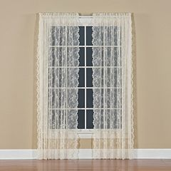 Petite 1-Panel Fleur Window Panel